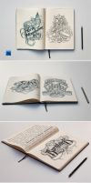 Sketch Book Mockups by andre2886