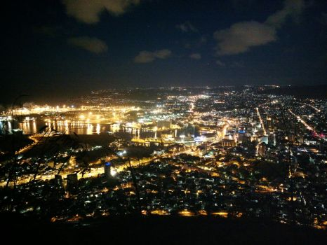 Port Louis at night II by carrotmadman6