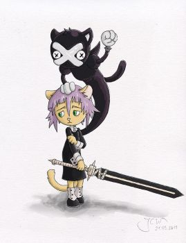 Crona Cat - Base Colors by LordGuardian