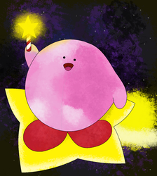 Kirb of the stars by pikachuandpichu106