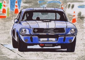 Ford Mustang by Oldquaker