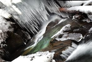Frozen Stream by alexandre-deschaumes