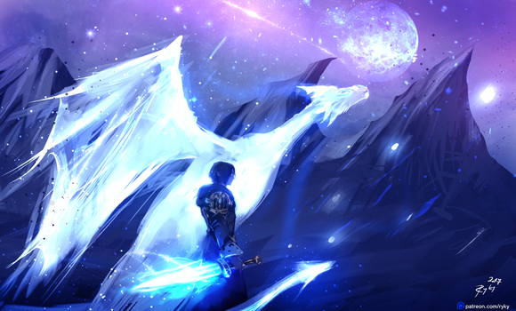 Astral Dragon by ryky