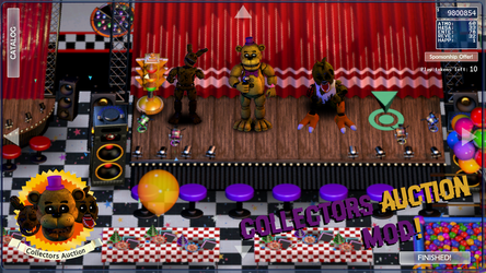 [FNAF Mod](Texmod) FFPS: Collectors Auction Mod! by EliteRobo