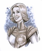 Power Girl, New 52 style by BigChrisGallery