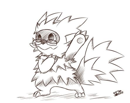 What if - Zigzagoon by Trozte