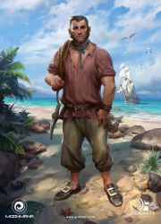 Ultimate Pirates - Worker by Grafit-art