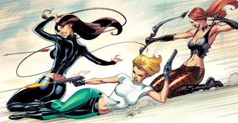 Danger Girl Revolver 2-3-4 covers by JohnRauch