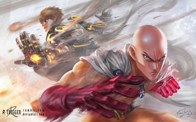 ONE PUNCH MAN! by r-trigger