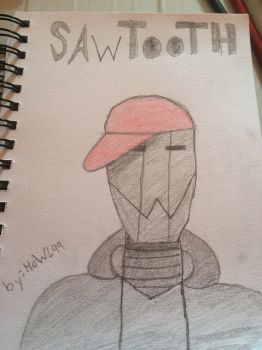Sawtooth by howl99