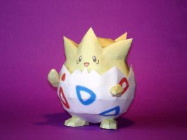 Togepi Papercraft