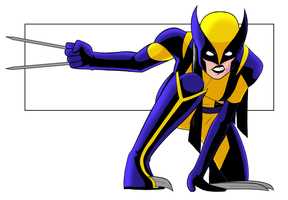 Wolverine test by Cadhla182
