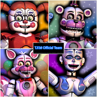 TFM Sister Location Pack Poster by Roto2345