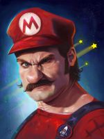Its-a me Mario! by LaurenceAndrewPage