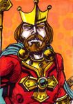 King Randor Sketch Card by Barnlord