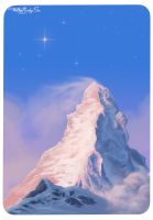 The Matterhorn Rises by WillisNinety-Six