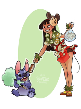Festival-Goer Lilo by Skirtzzz