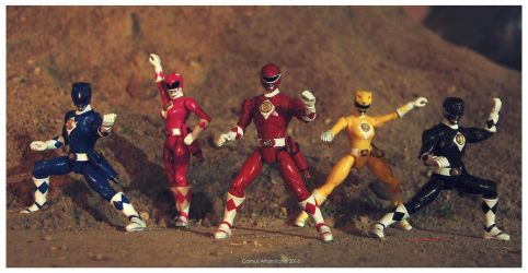 Mighty Morphin Power Rangers: the movie figures by CamusAltamirano