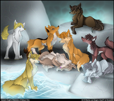 Night Class Canines by Xiao97