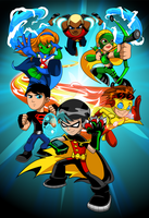 Young Justice by kudoze