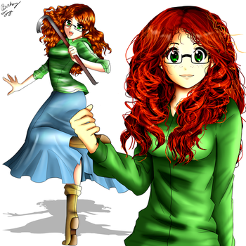 VenturianTale - Bethany Frye (Commission) by FlyingPings