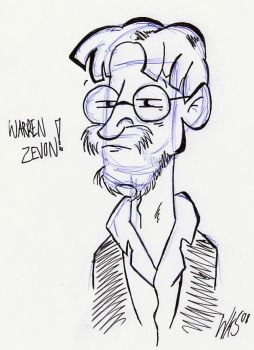 Warren Zevon by Fat-Chihuahua