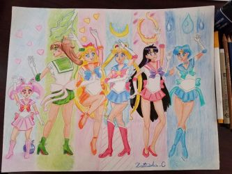 SailorMoon-Everyone! by natashNAMAC