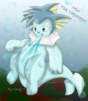 Mio The Vaporeon by Zander-The-Artist