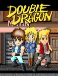 double dragon by MisterGakusei