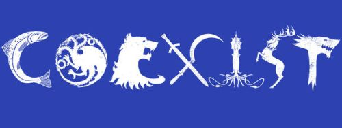 Coexist by spacemonkeydr