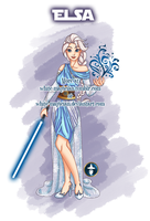 Jedi Disney Princess Elsa by White-Magician