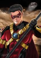Red Robin - Tim Drake by Min-rotic