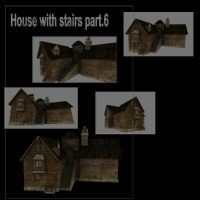 House with stairs part.6 by DennisH2010