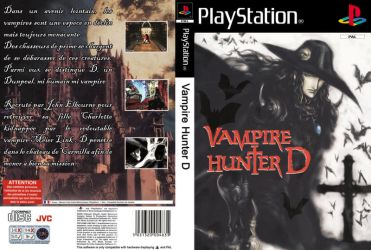 Cover : Vampire Hunter D by Lostmindy