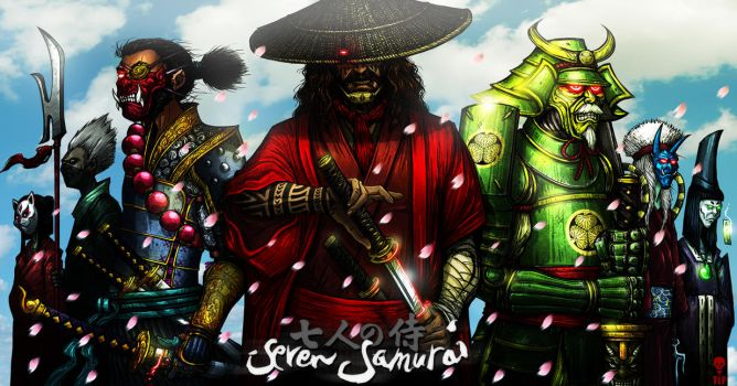 7 SAMURAI (complete) by The-Last-Phantom
