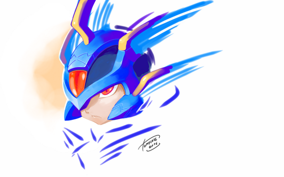 Copy X - Painting practice by Tomycase