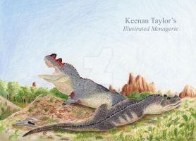 Nesting Ceratosaurus by IllustratedMenagerie