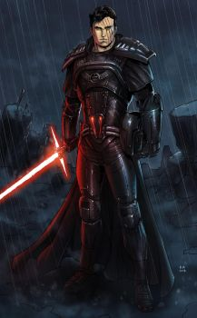 Darth Armades (Commission) by KaRolding