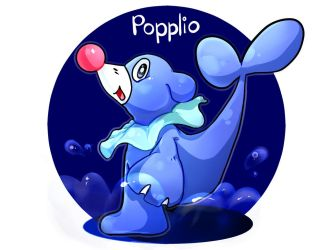 Popplio by BananaConductor
