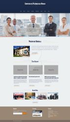 Patronatul Roman web design interface - version 1 by NedLand