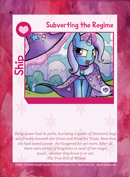 TSSSF Ship Card - Subverting the Regime 1.0.6 by MLP-NovelIdea