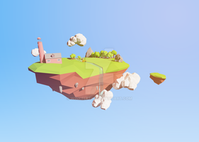 Floating Island by Winkelftw