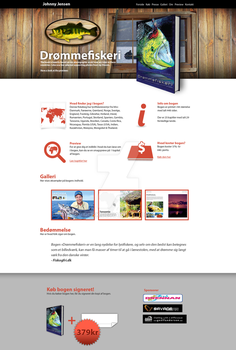 Fishing book website - WIP by usk