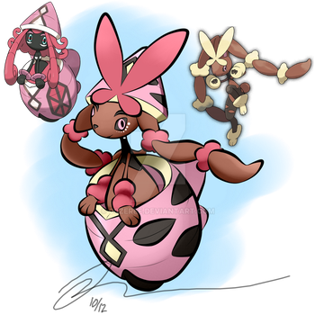 Tapu Lopunny (light egg) by 00Zeref