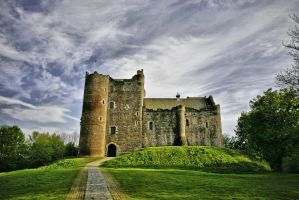 Doune Castle in colour by BusterBrownBB