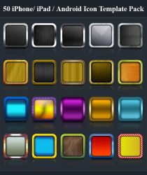 50 iPhone Icons Templates by Killer-Icons