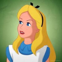 Disney Ladies: Alice by Mangsney