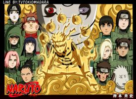 Naruto  515 cover by One67