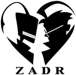 ZADR-Black and white logo by SWING-21