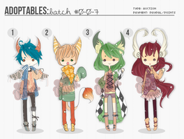 [ADOPTS][CLOSED]: MIXED ADOPTS [ALL SOLD] by Clouver